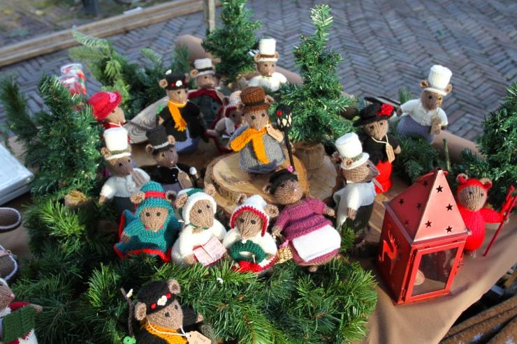 Stall at Haarlem Christmas Market, Netherlands