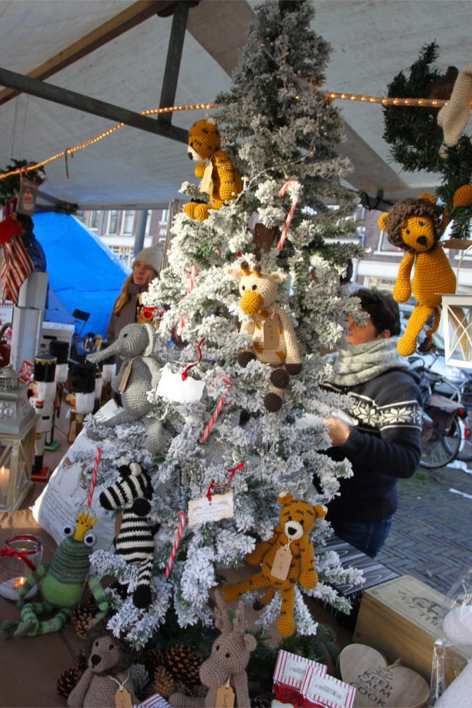 Stall at Haarlem Christmas Market, Netherlands