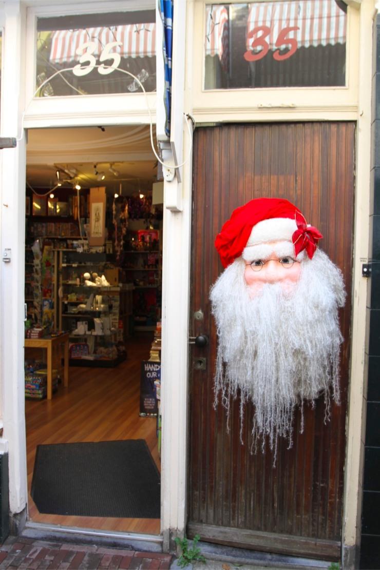 Decapitated Santa at Haarlem Christmas Market, Netherlands