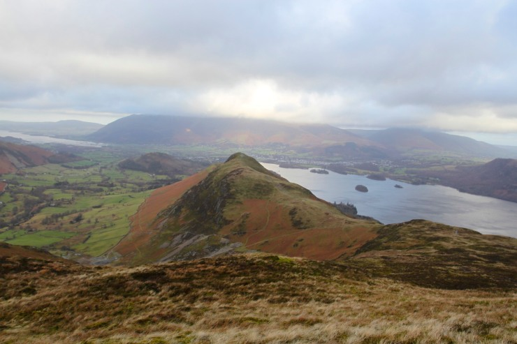 Catbells with Derwent Water in background, Lake District, Cumbria