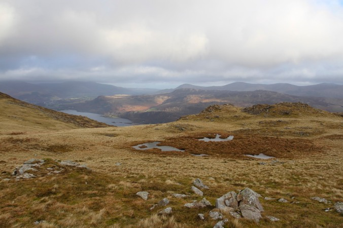 The View from Maiden Moor, Lake District, Cumbria