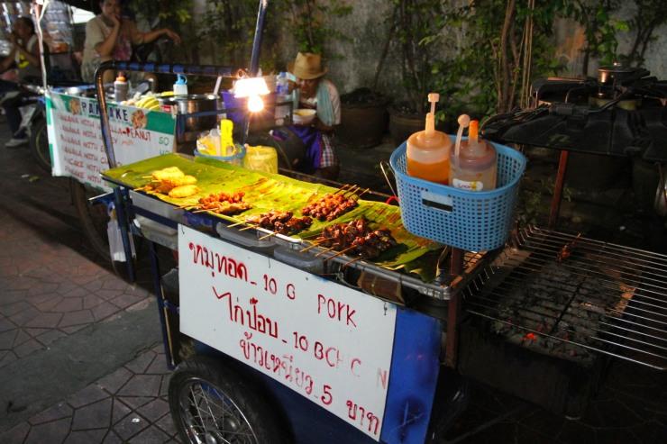 Food stall, Khao San, Bangkok, Thailand