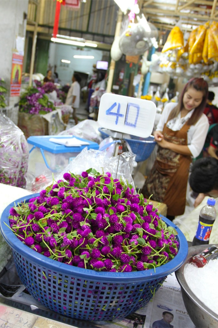 Pak Khlong Talat, Night Flower Market, Bangkok, ThailandPak Khlong Talat, Night Flower Market, Bangkok, ThailandPak Khlong Talat, Night Flower Market, Bangkok, Thailand