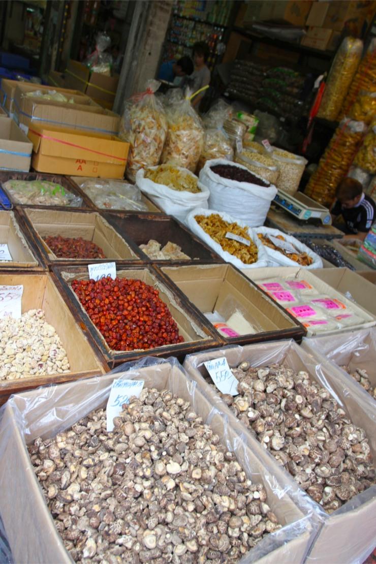 Mushrooms, Chinatown, Bangkok, Thailand