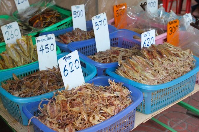 Dried squid, Chinatown, Bangkok, Thailand