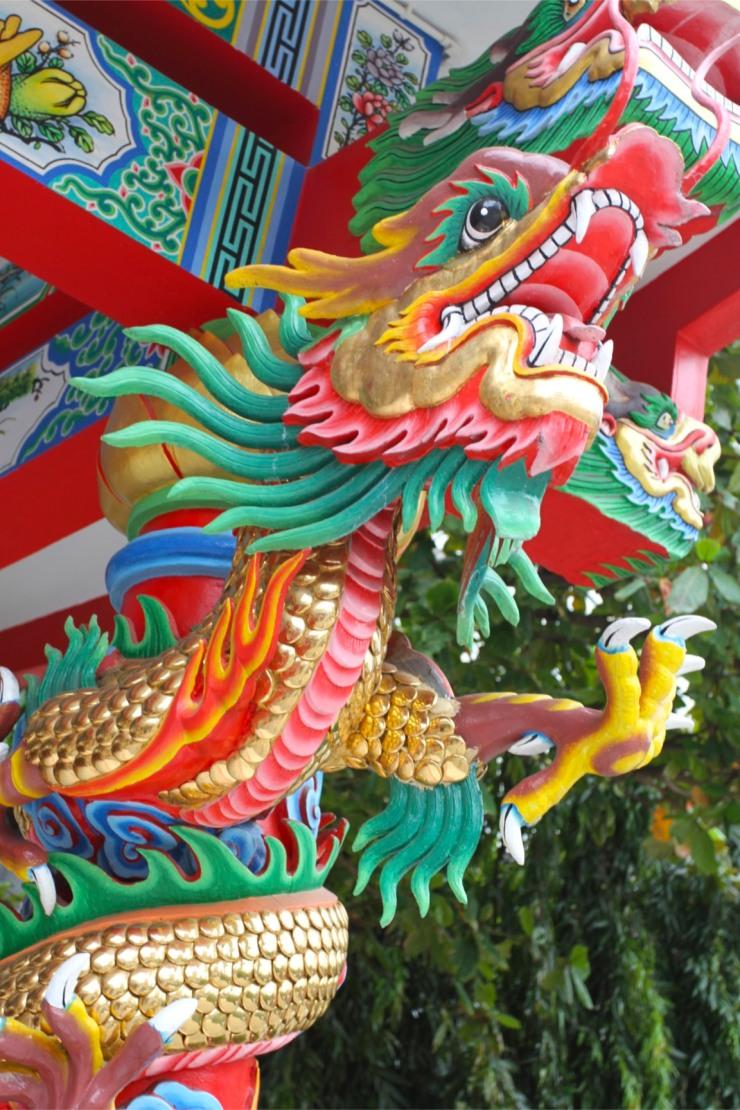Enter the dragon, Bangkok, Thailand