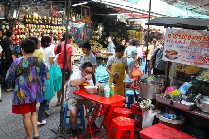 Street in Chinatown, Bangkok, Thailand
