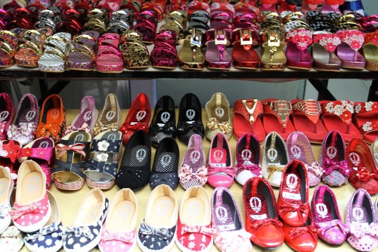 Shoes, Chinatown, Bangkok, Thailand