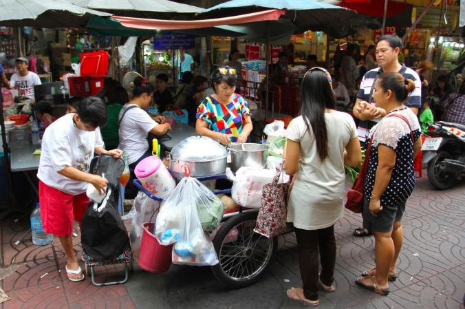 Food cart, Chinatown, Bangkok, Thailand