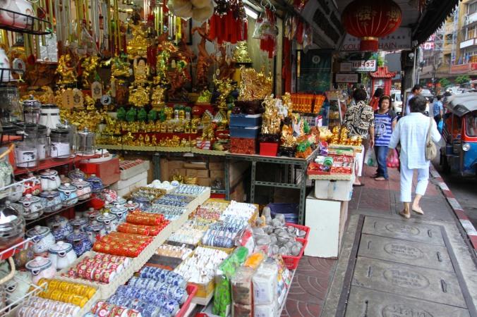 Shops, Chinatown, Bangkok, Thailand
