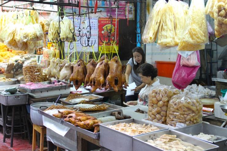 Food stalls, Chinatown, Bangkok, Thailand