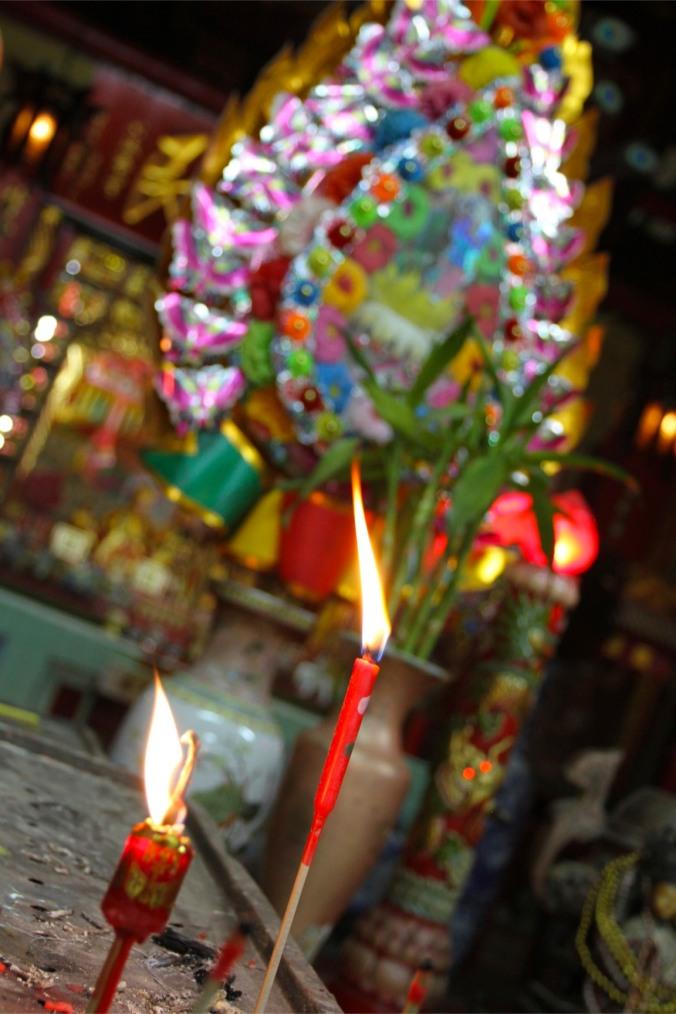 Chinese temple, Thien Fah Foundation, Bangkok, Thailand