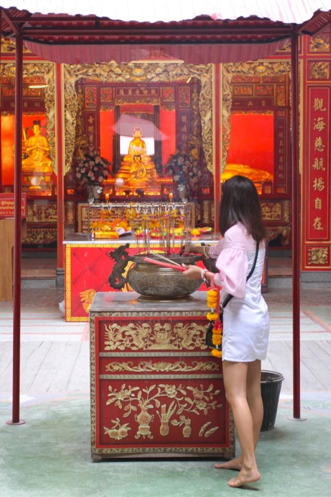 Wat Mangkon Kamalawat, Chinatown, Bangkok, Thailand