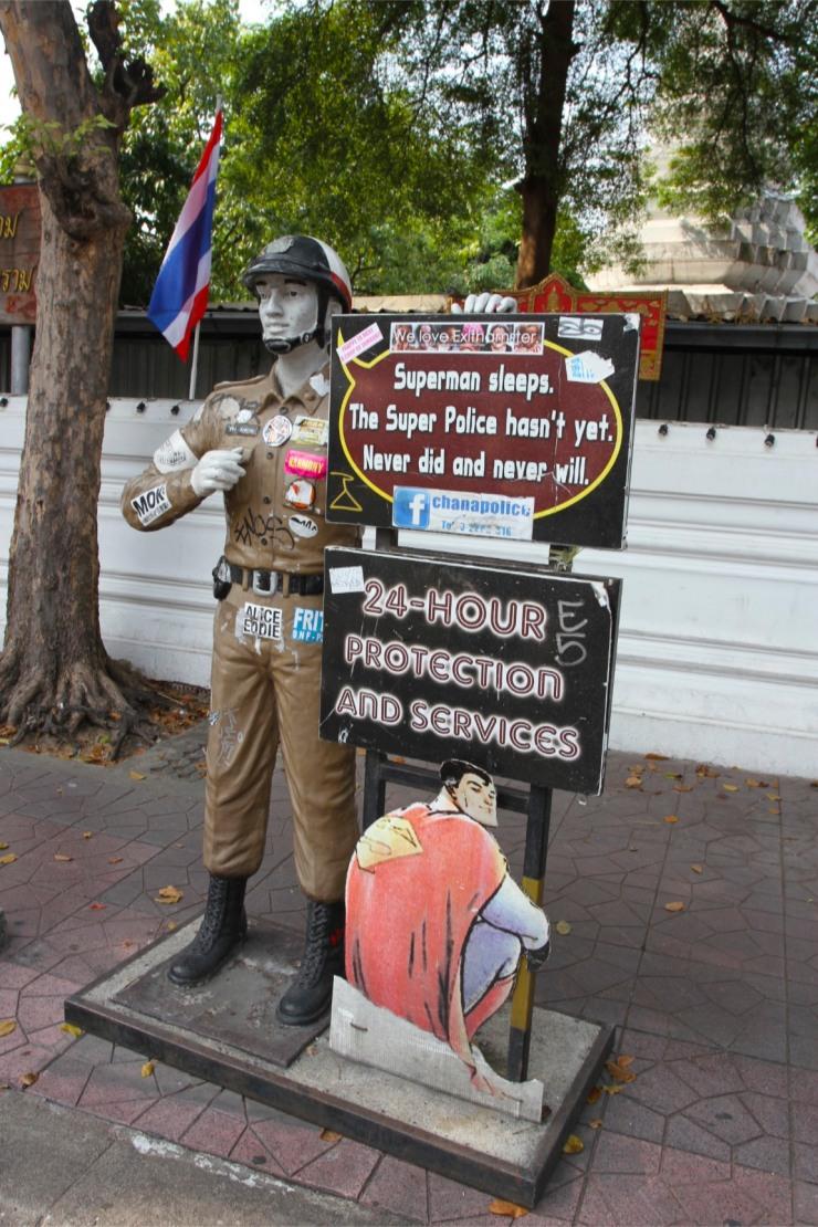 Police, Khao San, Bangkok, Thailand