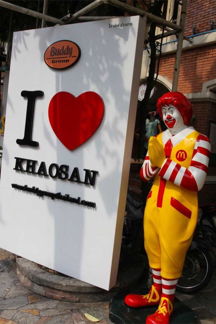 The horror, the horror, Khao San, Bangkok, Thailand