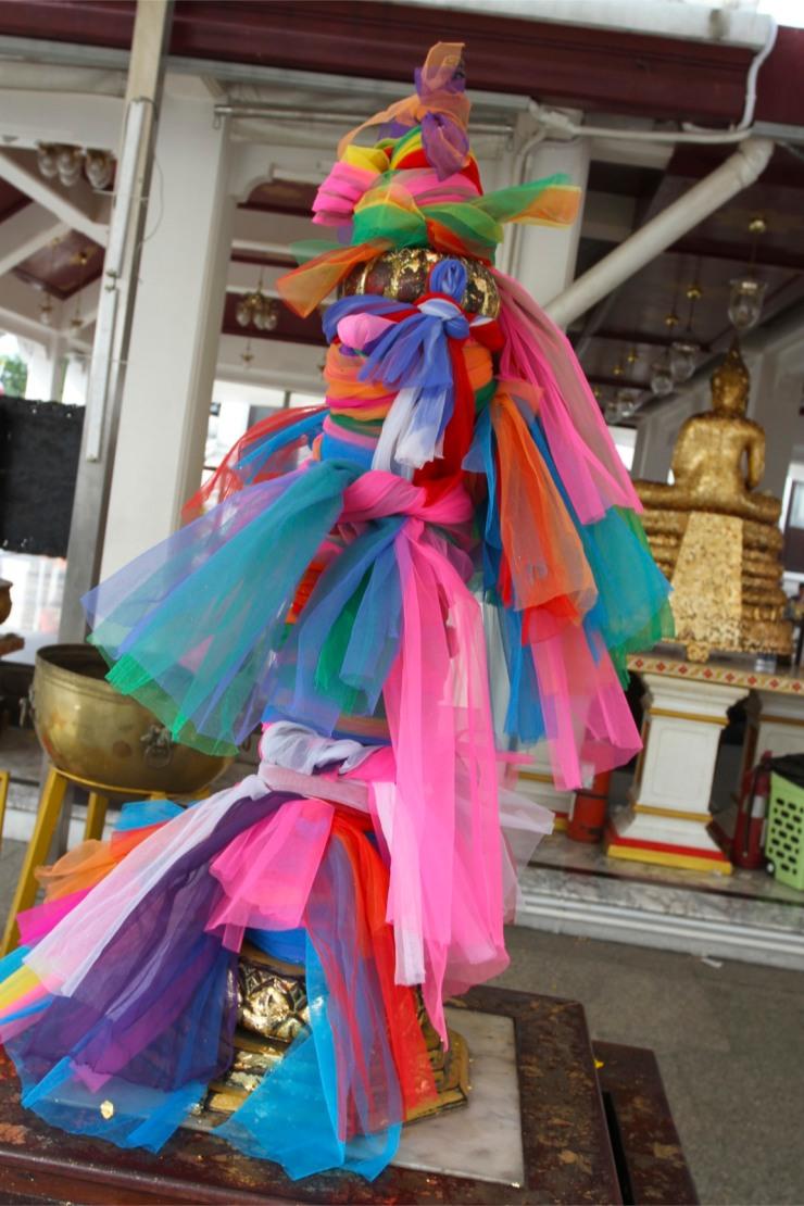 Prayer 'flags', Bangkok, Thailand