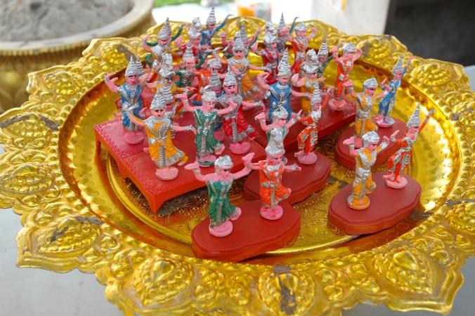 Temple kitsch, Bangkok, Thailand