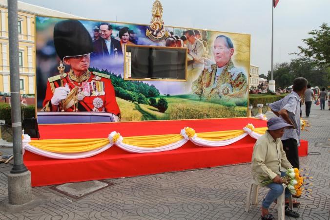 Images of King Bhumibol Adulyadej, Bangkok, Thailand