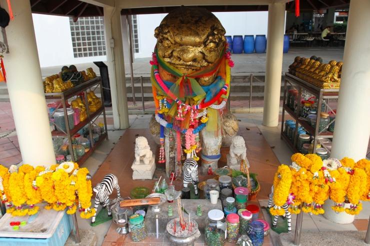 Shrine near the university, Bangkok, Thailand
