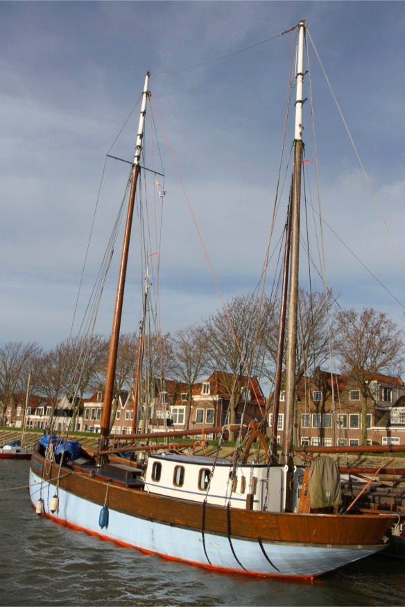 The harbour and boats, Hoorn, Netherlands