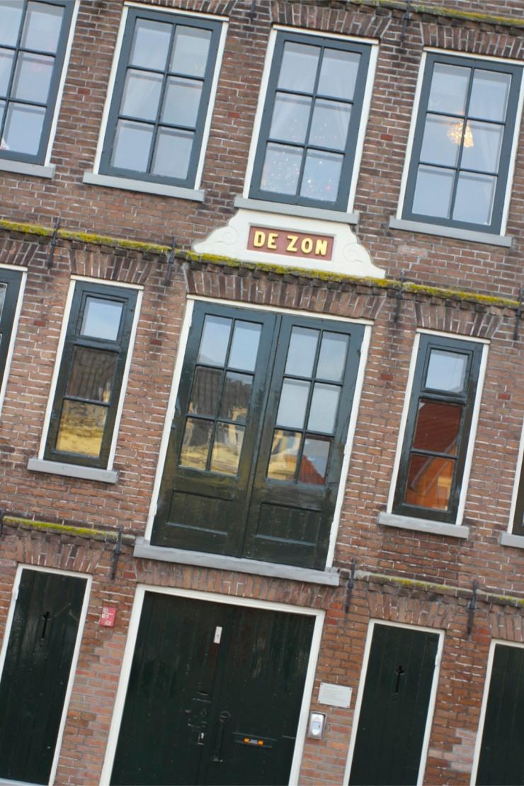 Former warehouse on Bierkade, Hoorn, Netherlands