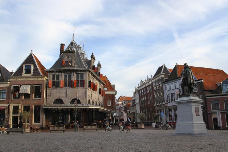 Central square, Hoorn, Netherlands