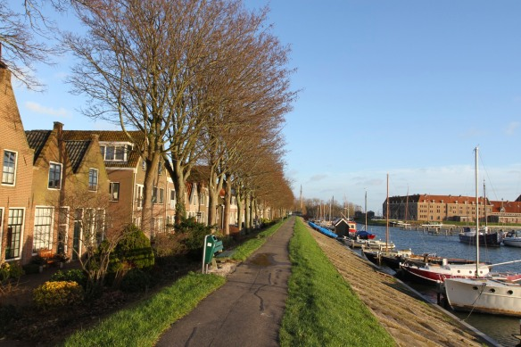The harbour and dyke, Hoorn, Netherlands