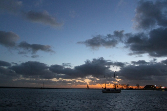 Sunset, Hoorn, Netherlands