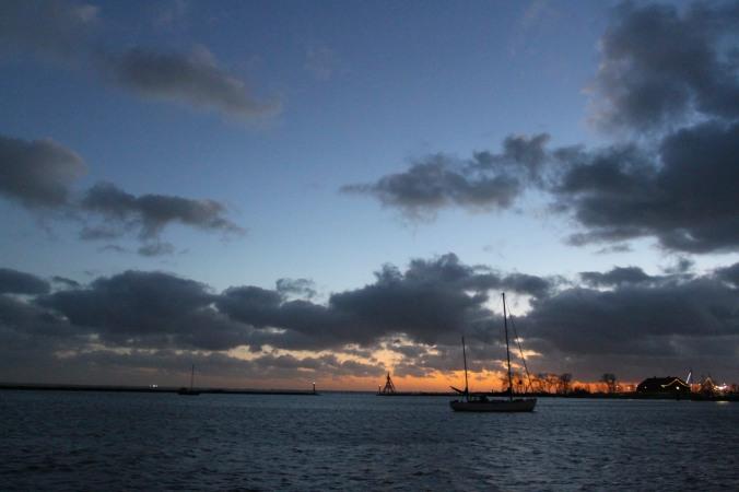 Sunset, Hoorn, Netherlands