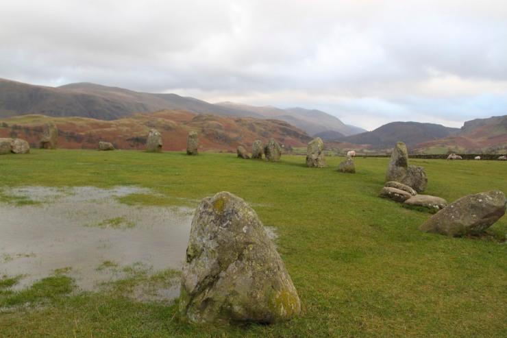 Castlerigg Stone Circle, Keswick, Lake District, Cumbria