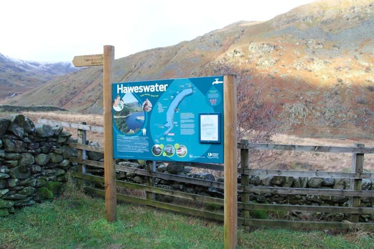 Haweswater near High Street, Lake District, Cumbria