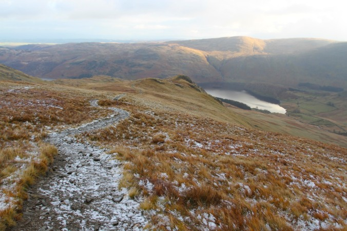 Haweswater from Kidsty Pike, Lake District, Cumbria