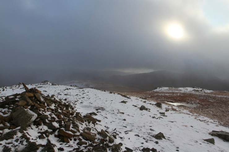 Descending from High Street, Lake District, Cumbria