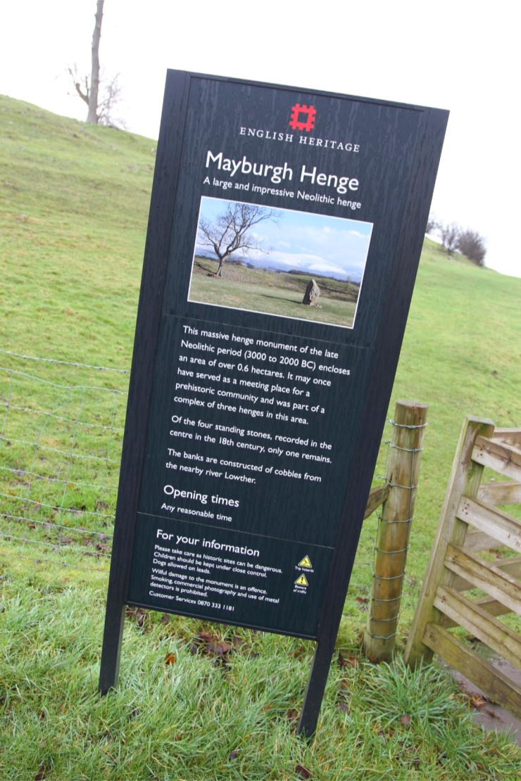 Mayburgh Henge, Penrith, Cumbria