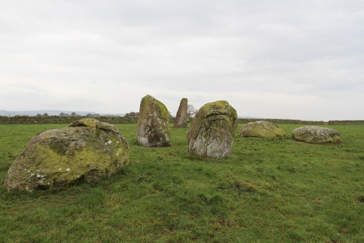 Long Meg and Her Daughters, Little Salkeld, Cumbria