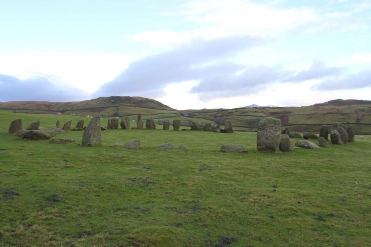 Swinside Stone Circle, Lake District, Cumbria