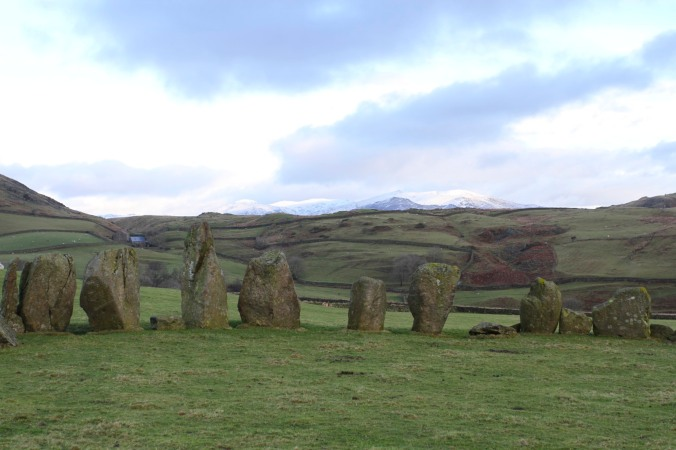 Swinside Stone Circle, Lake District, Cumbria