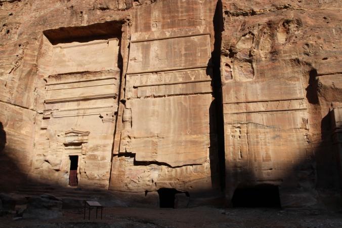 Nabataean tomb, Petra, Jordan