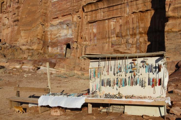 Tourist stall, Petra, Jordan