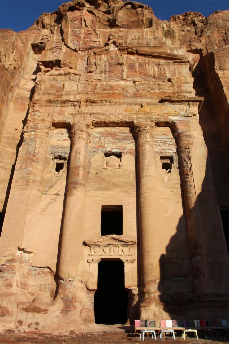 Entrance to Royal Tomb, Petra, Jordan