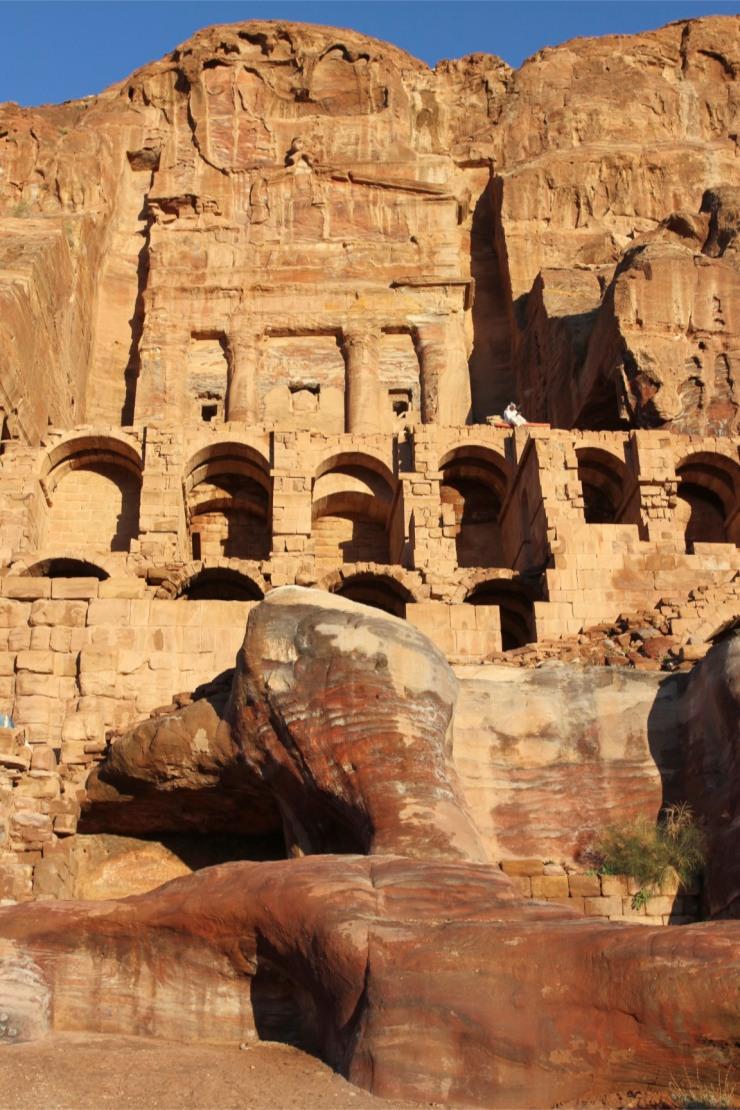 Royal Tomb, Petra, Jordan