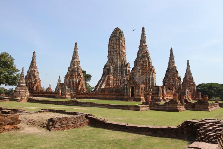 Wat Chai Wattanaran, Ayuthaya, Thailand