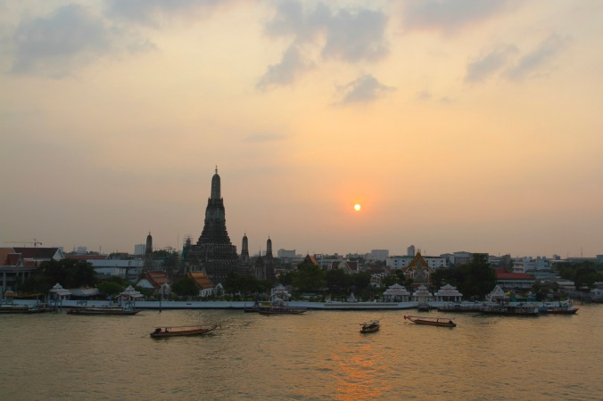 Sunset, Wat Arun, Bangkok, Thailand
