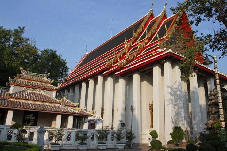 Temple of the Reclining Buddha at Wat Pho, Bangkok, Thailand