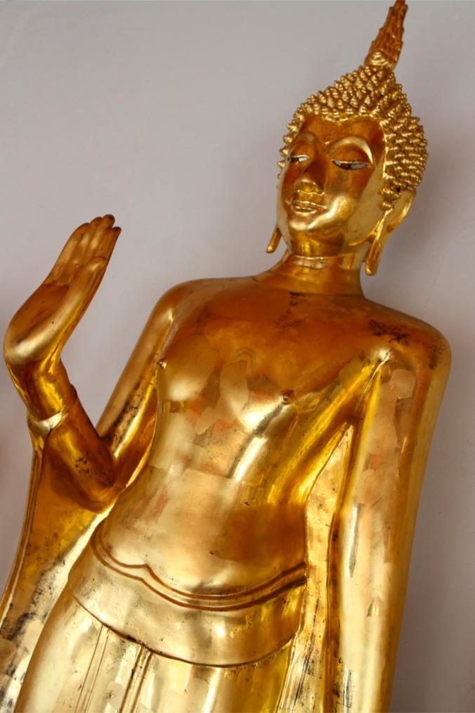 Buddha statues at Wat Pho, Bangkok, Thailand