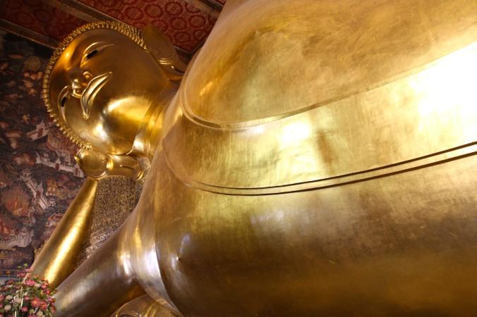 Reclining Buddha, Wat Pho, Bangkok, Thailand