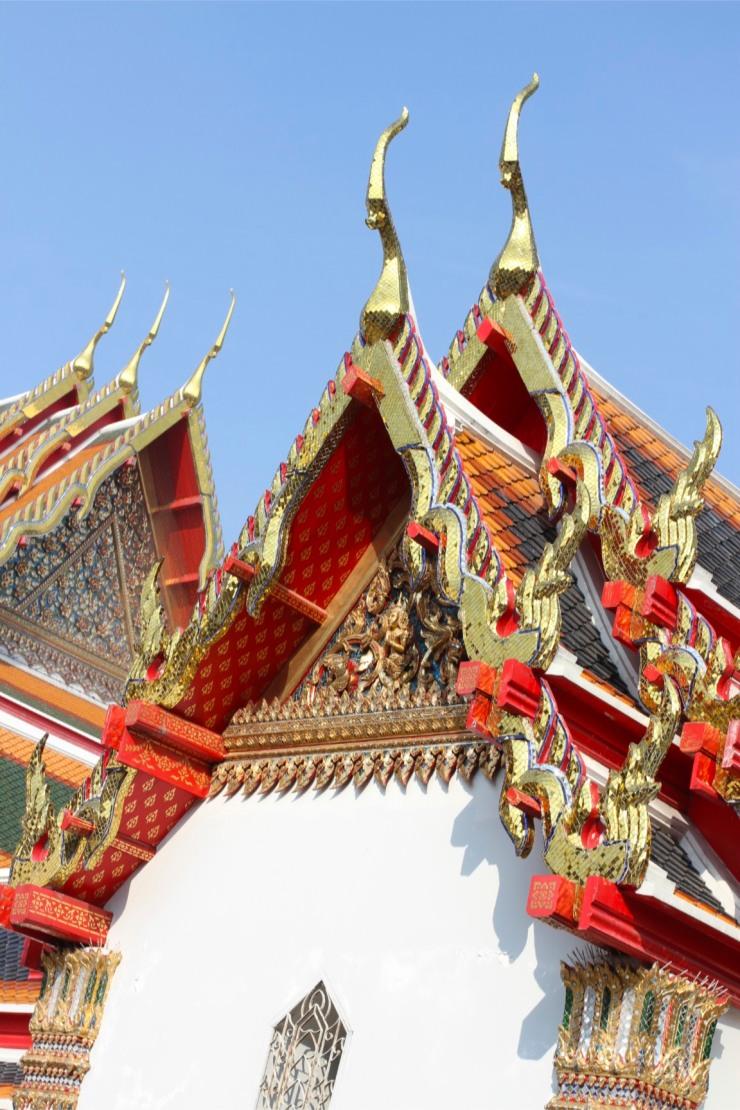 Temples at Wat Pho, Bangkok, Thailand