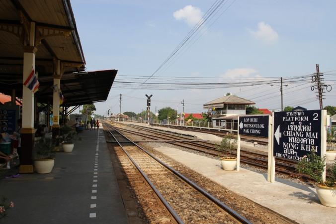 Ayutthaya railway station, Ayutthaya, Thailand