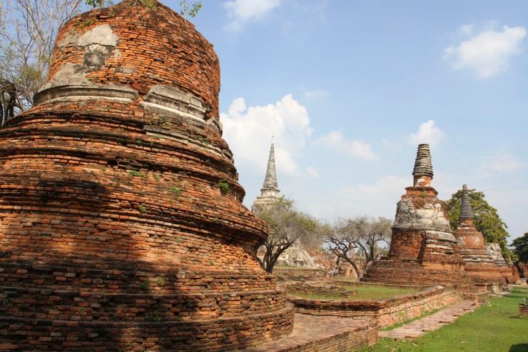Wat Phra Si Sanphet, Ayuthaya, Thailand