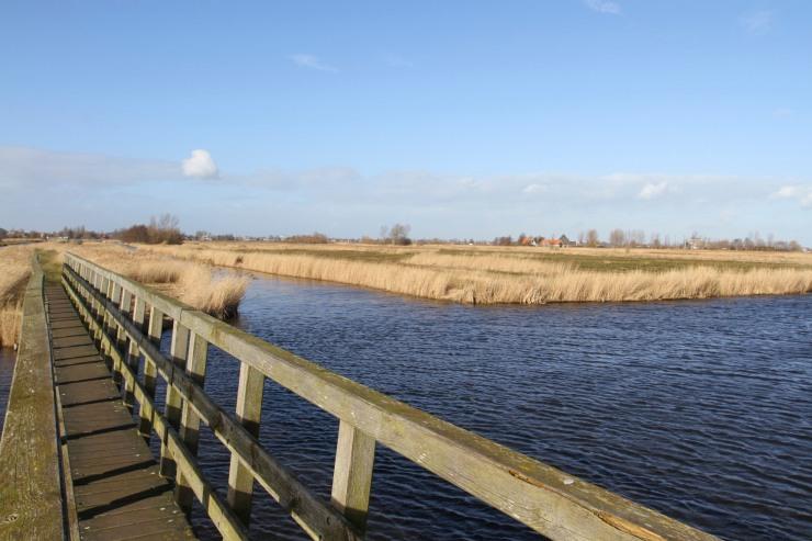 The polders of Zaanse Schans, The Netherlands
